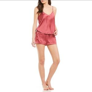 NEW Sam Edelman Rose Pink Cami And Shorts Set